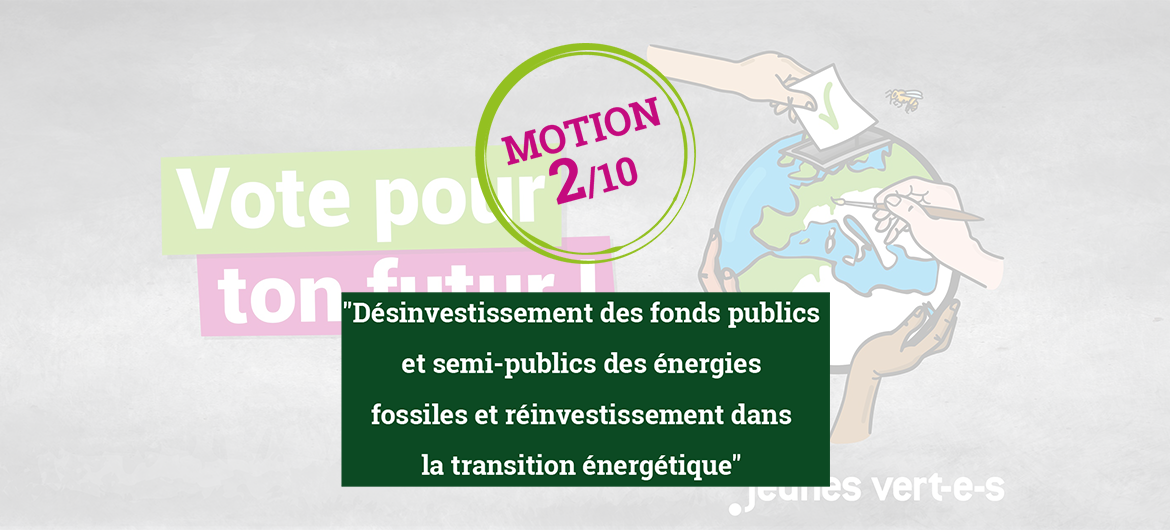 Motion #2: énergies fossiles